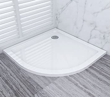 80 x 80 Plato de ducha Ducha Bañera de acrílico ducha bañera 40 mm ...