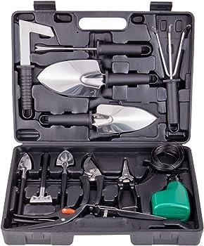 xderlin 14-Piece Garden Tool Set with Storage case