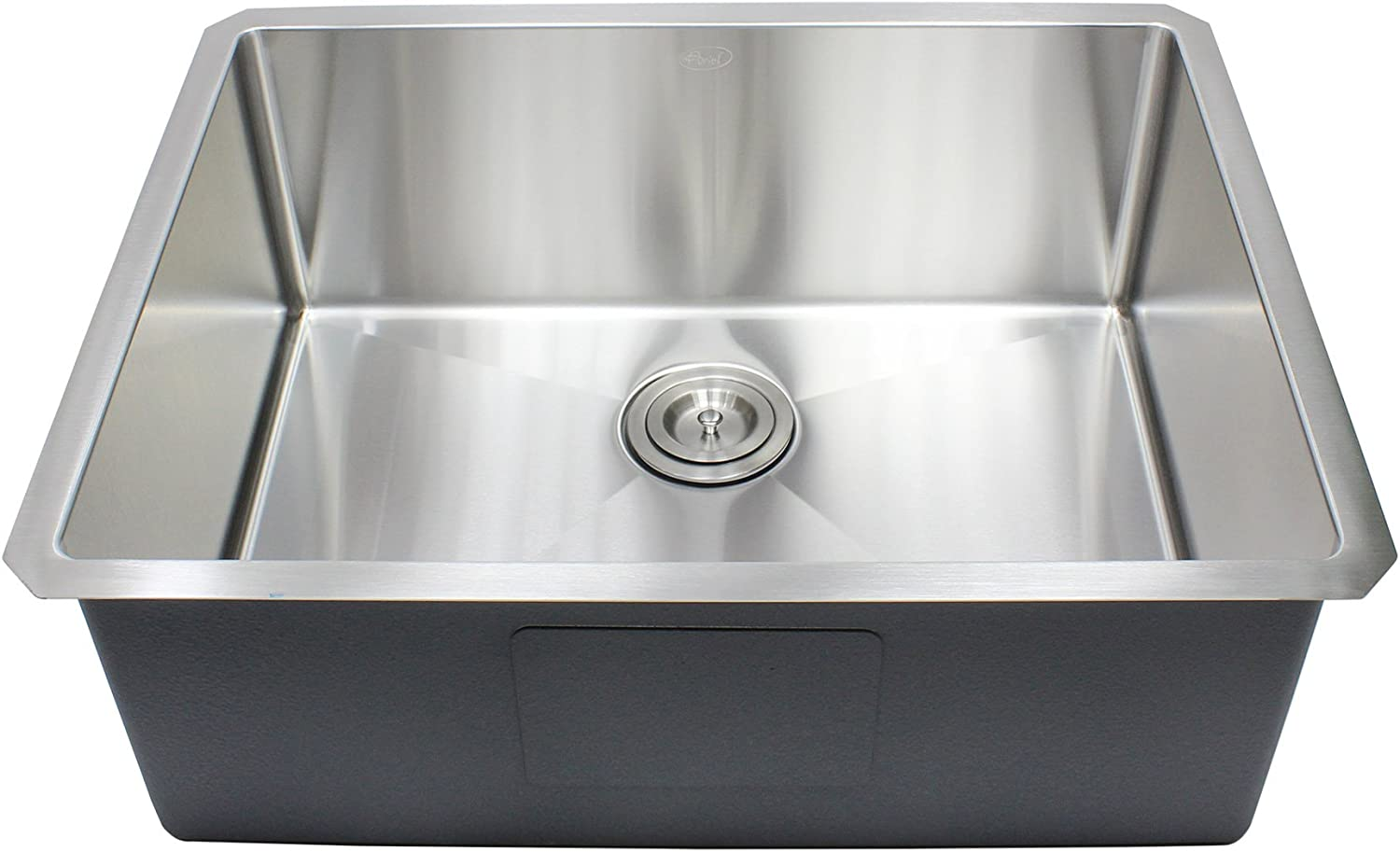 Ariel 26 x 20 Single Bowl Undermount Kitchen Sink