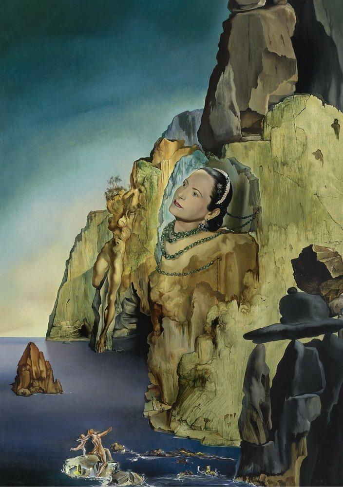 Salvador Dali The Great Masturbator Giclee Canvas Print Poster LARGE SIZE