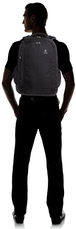 Black Unisex Adulto Deuter Grant Mochila Urbana Talla /Única Negro