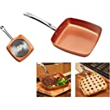 "Copper Chef 9.5"" Square Fry Pan"
