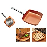 """Amazon Price History for:Copper Chef 9.5"""" Square Fry Pan"""