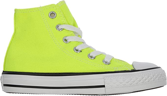 Converse New Chuck Taylor Hi Electric Yellow Girls 11