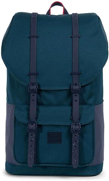 Herschel Little America Backpack, Hombre, deep teal green, talla única: Amazon.es: Deportes y aire libre