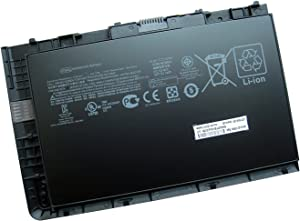 Batterymarket 52Wh 14.8V laptop Battery BT04XLCompatibe with HP EliteBook Folio 9470 Series Laptop HSTNN-IB3Z HSTNN-I10C BT04 BA06 687517-1C1
