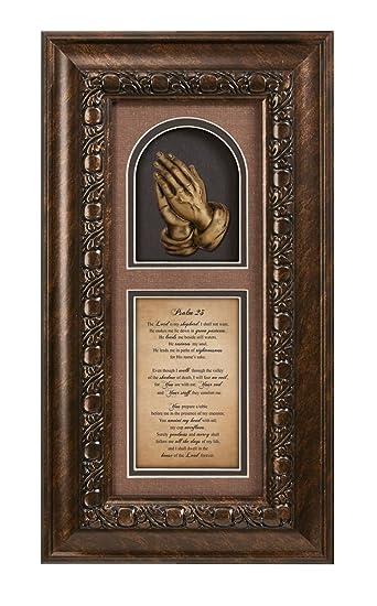Amazon.com: Faithworks Heartfelt 23rd Psalm Framed Inspirational ...