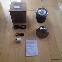 soaiy light projection lamp instructions