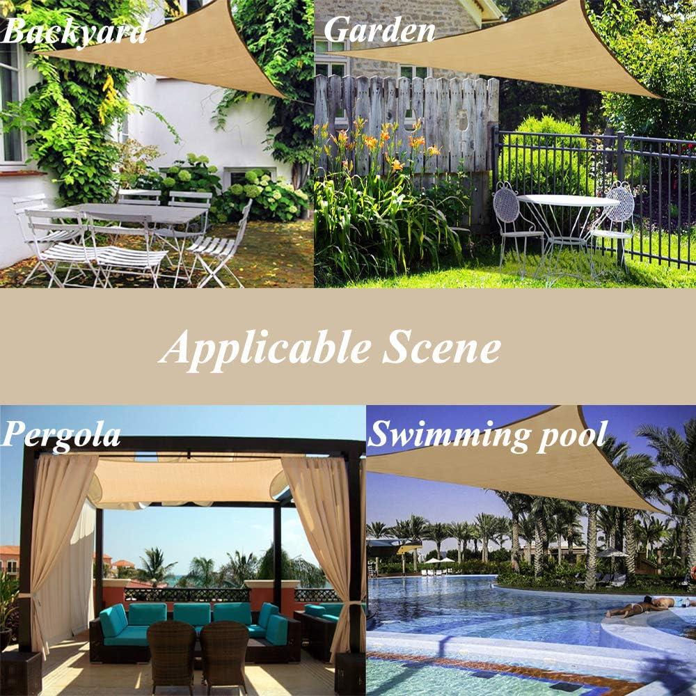 Garden EXPERT toldo Rectangular para Patio, jardín, Exteriores, instalaciones y Actividades: Amazon.es: Jardín
