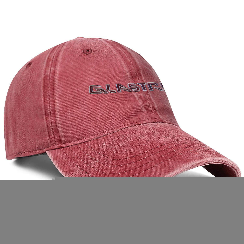 Snapback Mens Women Adjustable Denim Hip Hop Cap Baseball Hats Glastron-Boat-Logo-Red