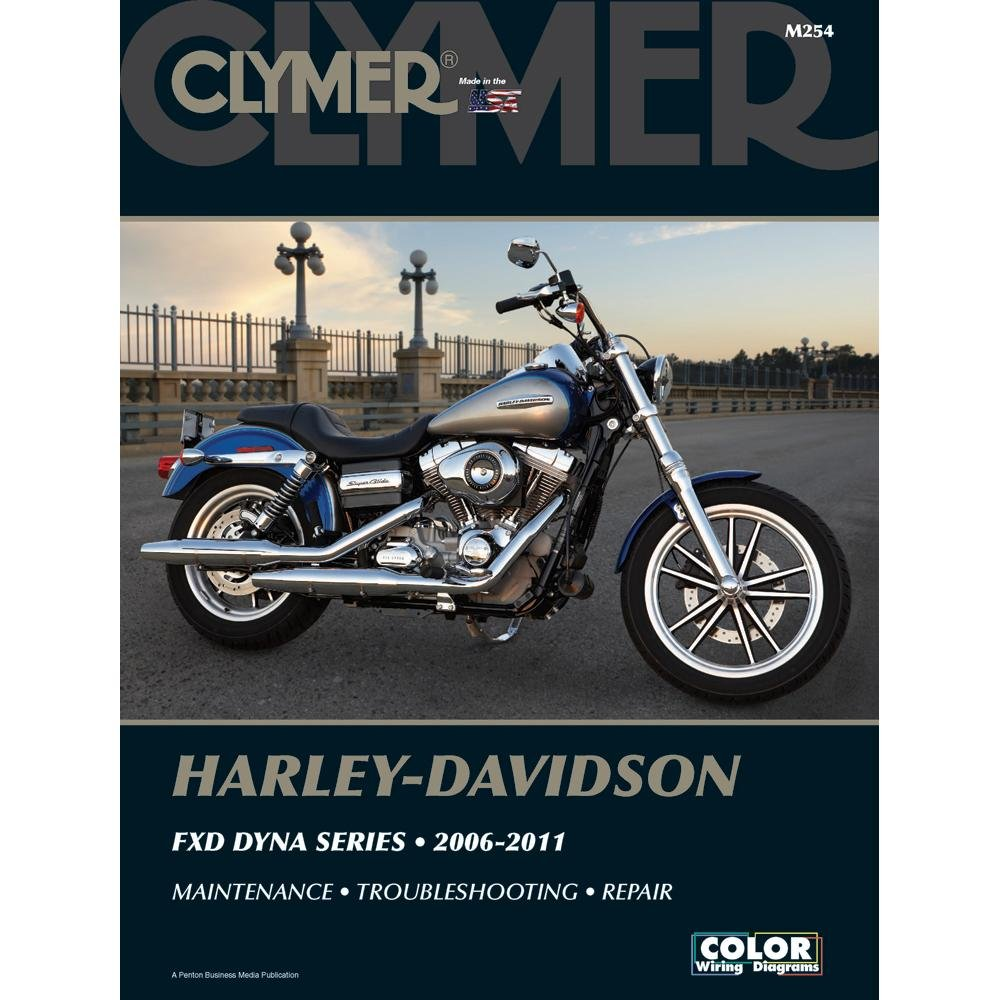 Amazon.com: Clymer Manuals M254; Manual H-D Dyna Made by Clymer Manuals:  Manufacturer: Automotive