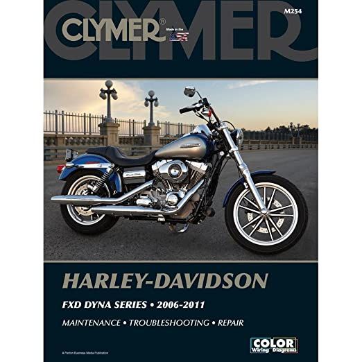 amazon com clymer manuals m254 manual h d dyna made by clymer rh amazon com