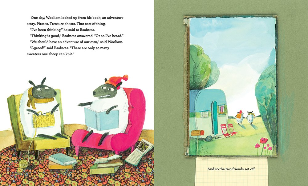 Baabwaa Wooliam By David Elliott Illustrated By Melissa Sweet A