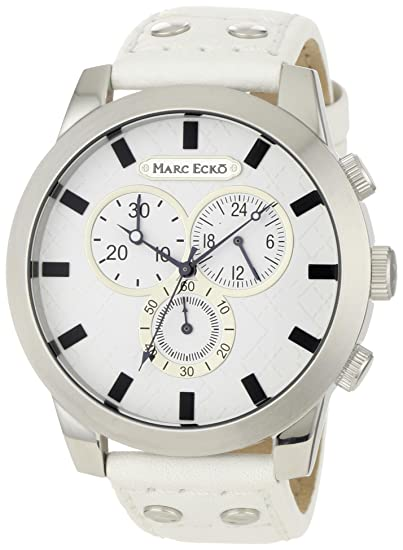 Marc Ecko Reloj Análogo clásico para Hombre de Cuarzo con Correa en Cuero E14539G3: Marc Ecko: Amazon.es: Relojes