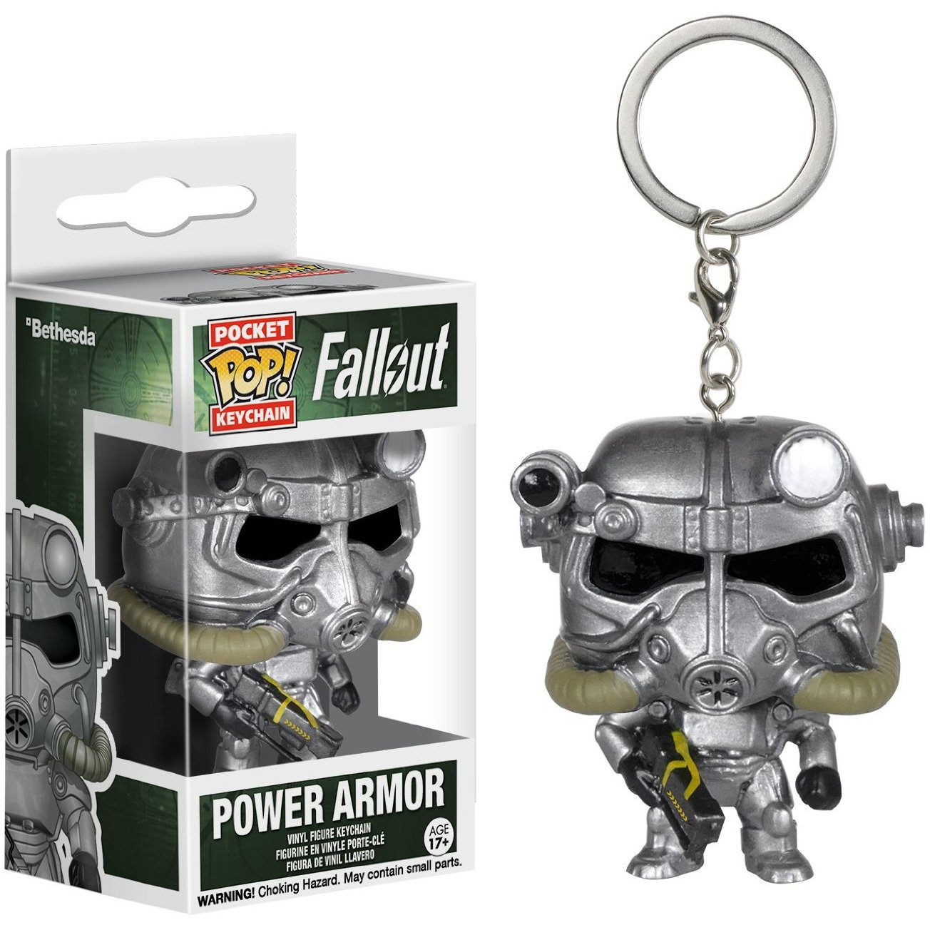 Amazon.com: Fallout Power Armor: Pocket POP! x Mini-Figure ...