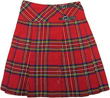 Tartanista - Kilt/Falda Escocesa Cruzada Larga - 58 cm (23 ...