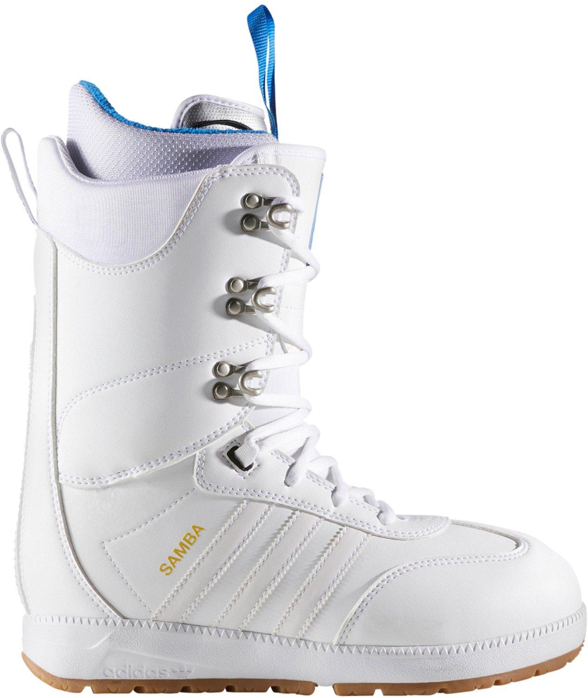 adidas Samba ADV Snowboard Boot Mens 13 D(M) US Footwear White/Footwear White/Gum