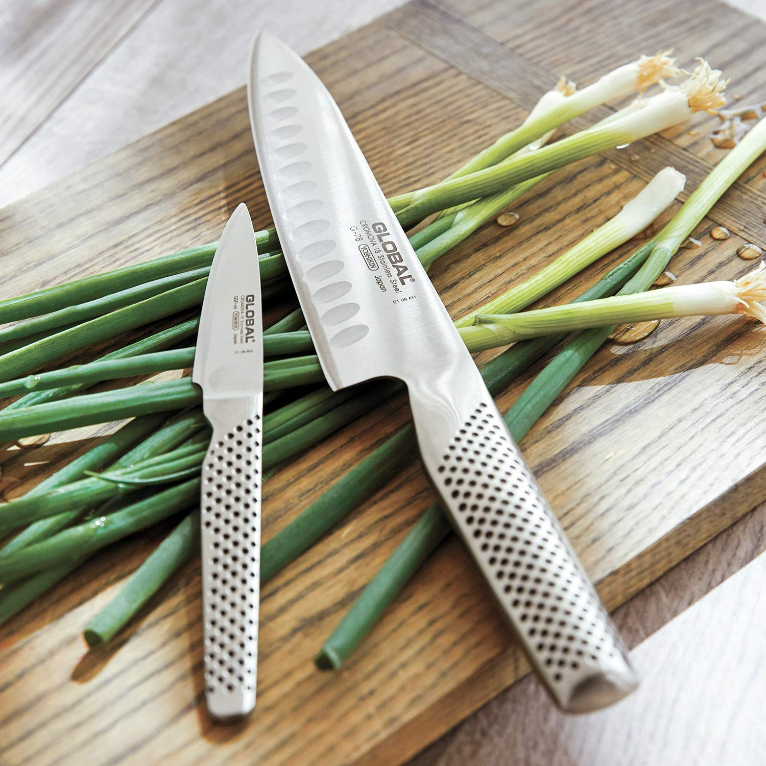 Global 8541908688 2 Piece Knife Set, 2.3, Silver by Global