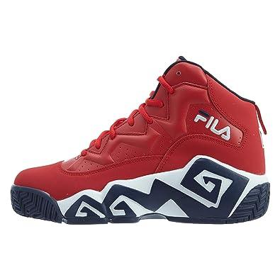 Buy Fila Boy's Mb Sneaker Red 4.5 4.5 M