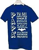 Tshirt Papà tu sei forte come ...- Happy father's day- Festa del papà - Tutte le taglie by tshirteria