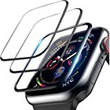 LOZA 3Pack Screen Protector for Apple Watch Series 6/SE/5/4 40mm, Bubble Free Anti-Scratch Resistant HD Clear Screen…