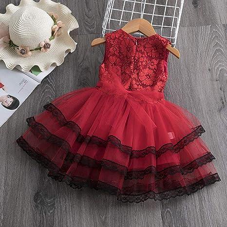 Yowablo ubranie dla małych dzieci niemowlę dziewczynki nadruk kwiatowy księżniczka tiul sukienka tutu ubranie strÓj: Odzież