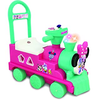 Amazon Com Kiddieland Minnie Ride On Train With Caboose And Track