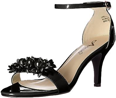 4251c832596 Annie Shoes Women s Lively Dress Sandal Black 6.5 ...