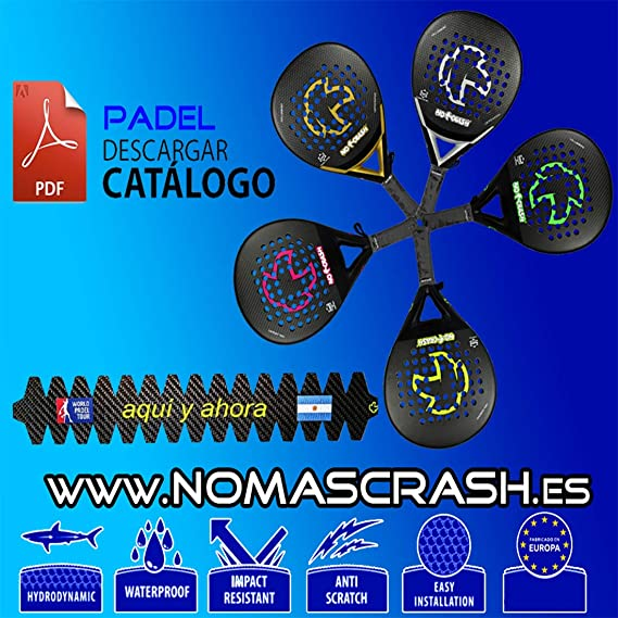 No+Crash Protector Pala Aluminio L nomascrash: Amazon.es: Deportes ...