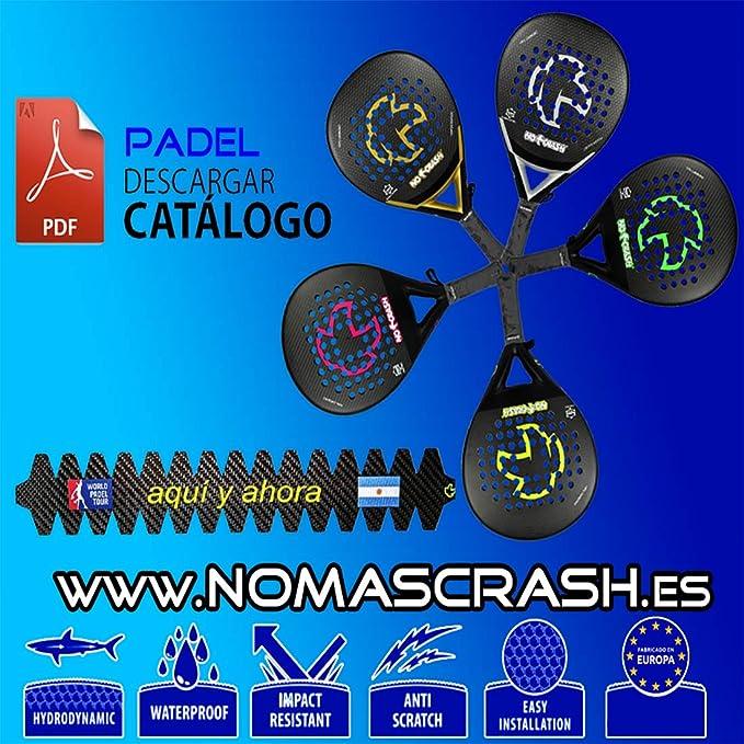 No+Crash Protector Pala Padel Transparente XL SIN Personalizar