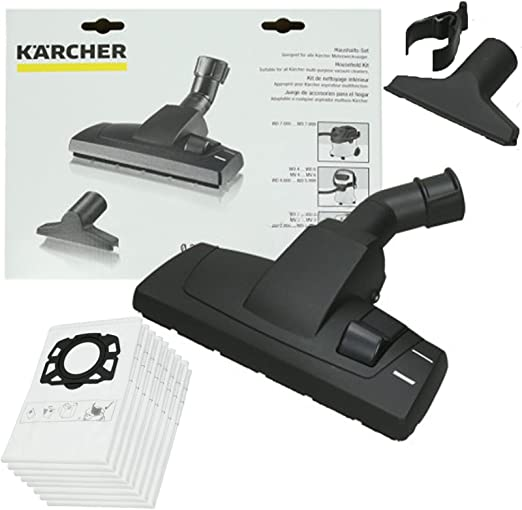 Spares2go Kit de accesorios para cepillo de suelo y 8 bolsas de ...