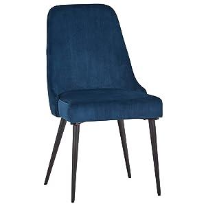 Rivet Modern Foam-Padded Dining Chair