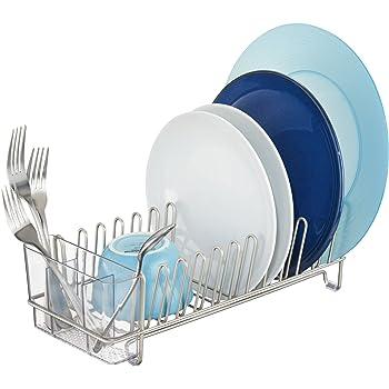 InterDesign 60115 Classic Escurridor de Cocina compacto para secar Vasos c502ecb1ec1e