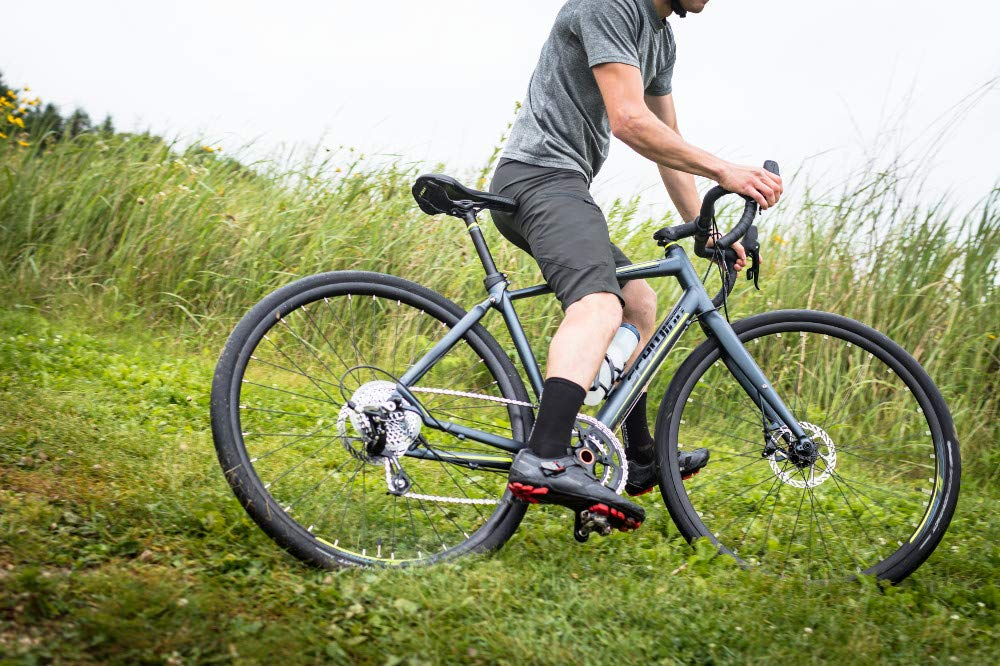 Schwinn Vantage RX 1 700c Gravel Adventure Bike with Disc Brakes, 51cm Large Frame, Slate Grey