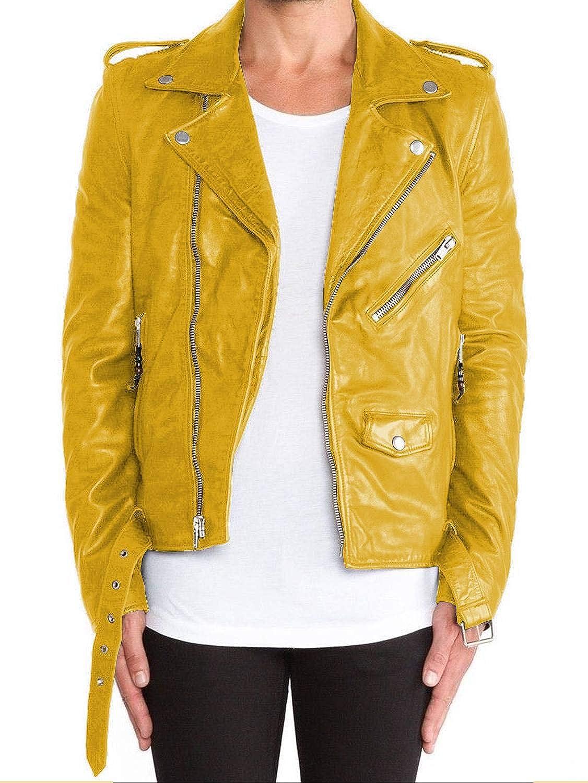 1501115 Laverapelle Mens Genuine Lambskin Leather Jacket Black, Double Rider Jacket