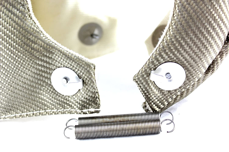 T25 SWI Parts T25 T3 T4 T6 LAVA Titanium and high silica cloth turbo heat shield