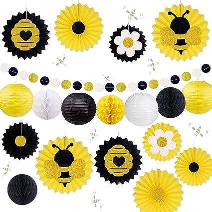 Amazon.com: Adornos para fiestas de abejas, abejas, baby ...