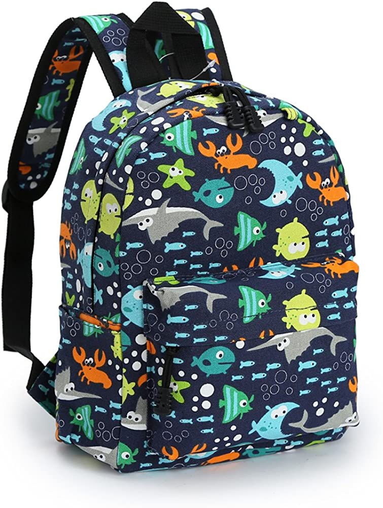 Zicac Children's Cute Canvas Backpacks Mini Rucksack Bag