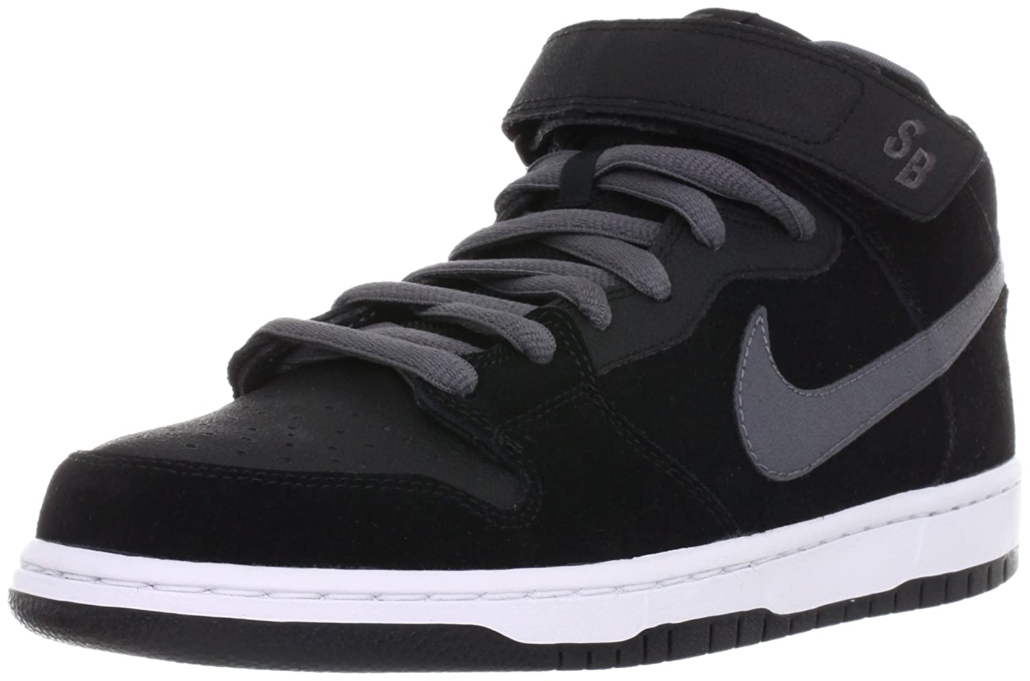 reputable site 25e57 bd4a6 Amazon.com  NIKE SB Mens The Dunk Mid 9.5 Black  Fashion Sne