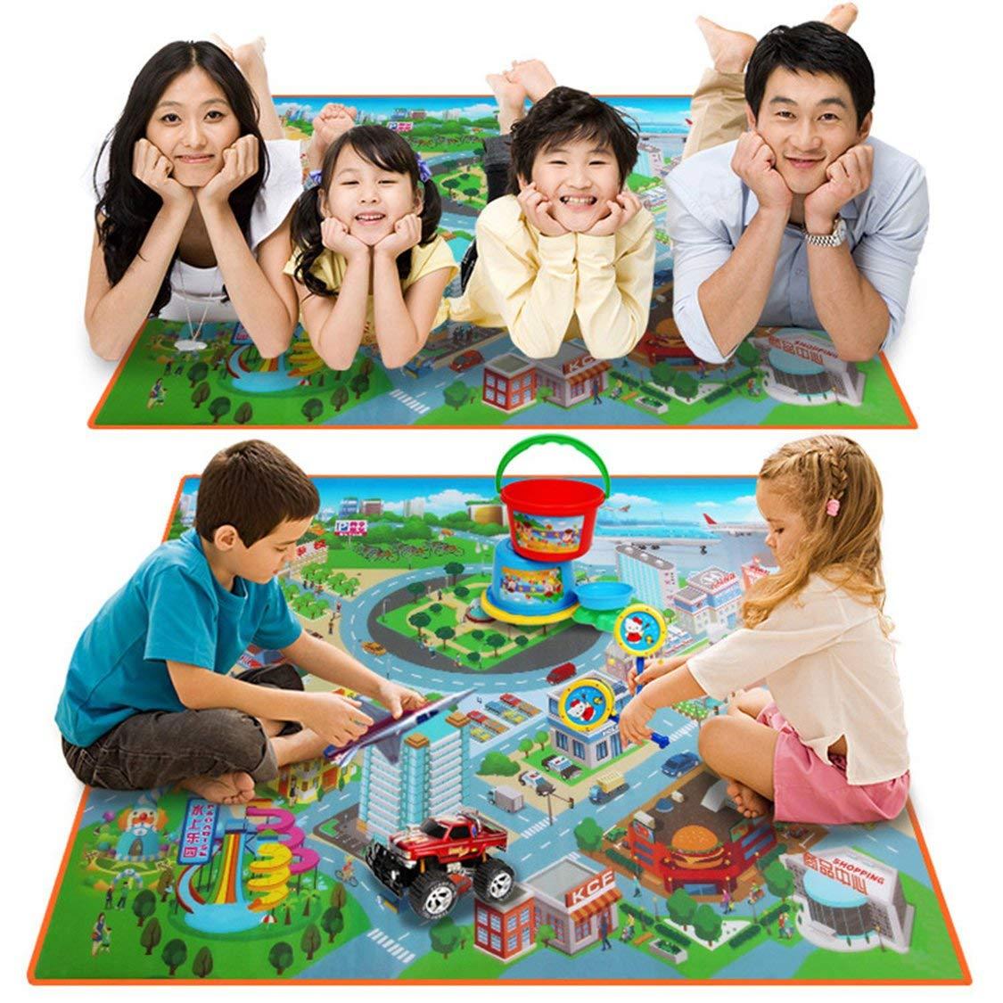 subir una almohadilla alfombra para sala de estar alfombrillas plegables para ni/ños Alfombrilla impermeable para beb/és engrosamiento ecol/ógica