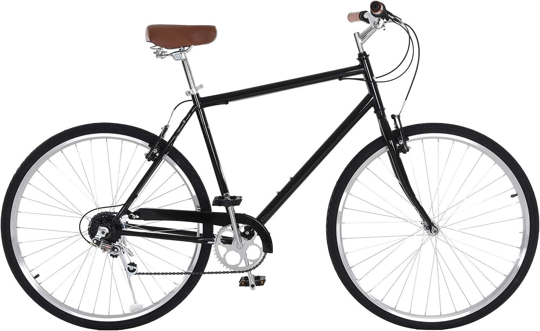 Vilano City Bike Men's 7 Speed Retro Urban commuter