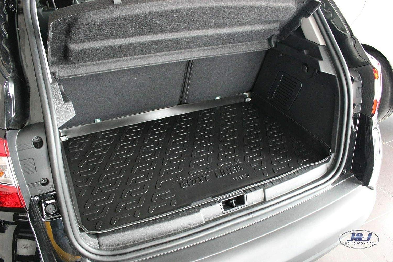 J&J AUTOMOTIVE Premium Tapis DE Coffre Caoutchouc sur Mesure Renault CAPTUR 2014-prés