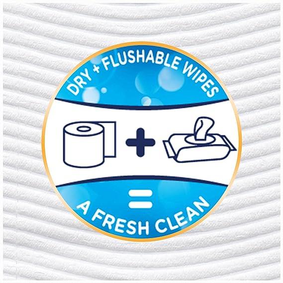 Atención Cottonelle Fresh Flushable paños de limpieza 36734, Toallitas recargables, Pack De De, 1: Amazon.es: Salud y cuidado personal
