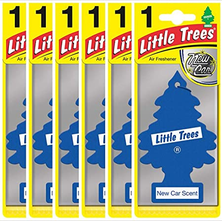 Little Tree Air Fresheners 6 Pieces Auto