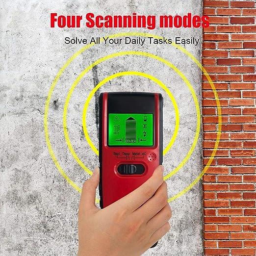 Amazon.com: DLMZY Stud Finder 4-in-1 Rivelatore multifunzione professionale a parete, Scanner a parete, Sensore Centrale professionale a montaggio a parete, ...