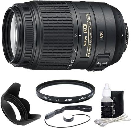 Nikon 55 – 300 mm f/4.5 – 5.6 G ED VR AF-S DX NIKKOR Zoom lente
