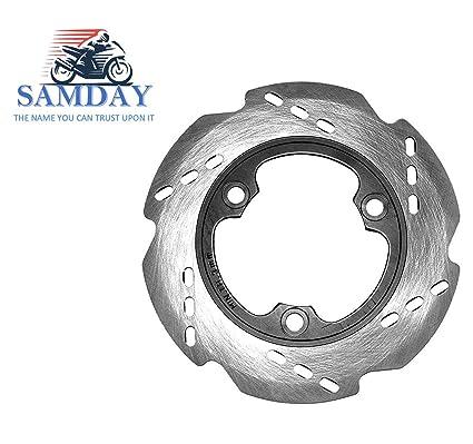 SAMDAY Rear Brake Disc Plate for TVS Apache RTR 180: Amazon