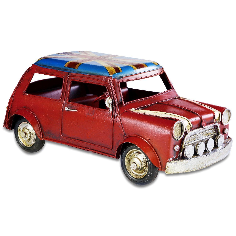 Retro Handicraft- Vintage Iron Car Models, Handmade Classic Vehicle Models for Birthday Gift/Home Decor/Ornament/Desktop Decoration - Multiple Style Options (GY-M001)