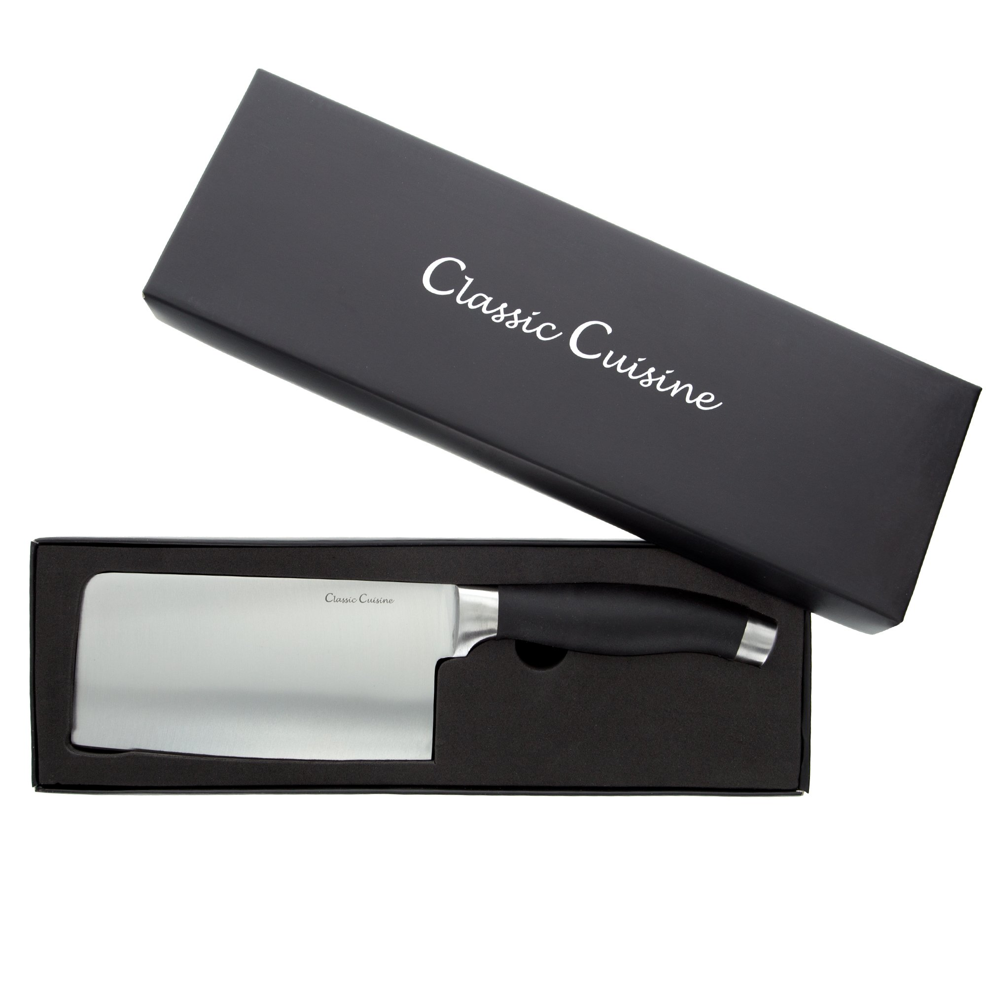 Classic Cuisine 82-2501010 Chopper Cleaver, Normal, Stainless Steel