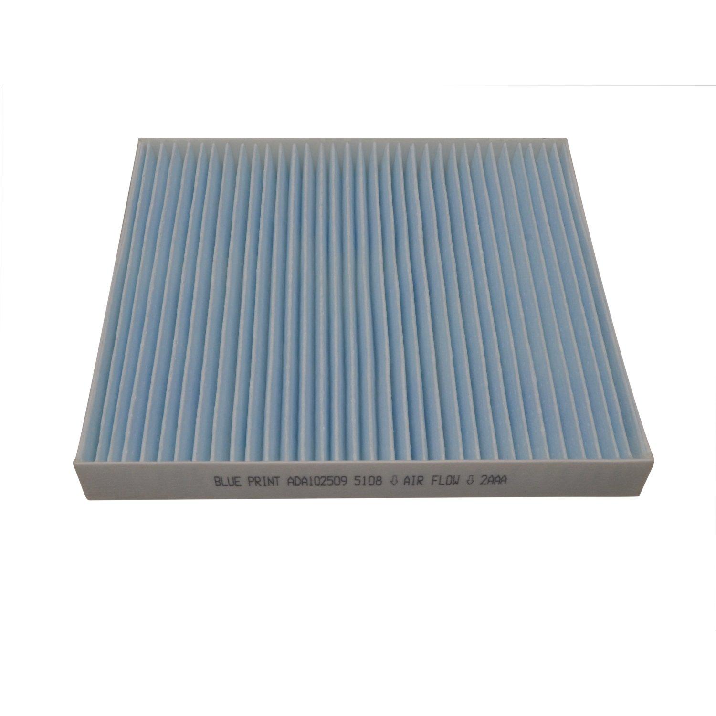 Blue Print ADA102509 Innenraumfilter 1 St/ück Pollenfilter